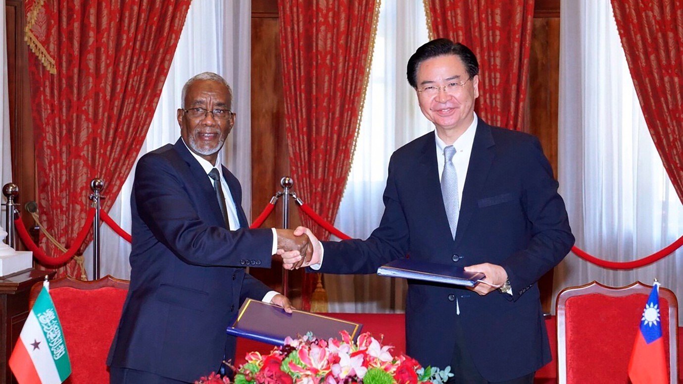 Taiwan-Somaliland Ties bad for Africa: It's a Catalyst for New Cold War Between U.S and China on African Soil.
