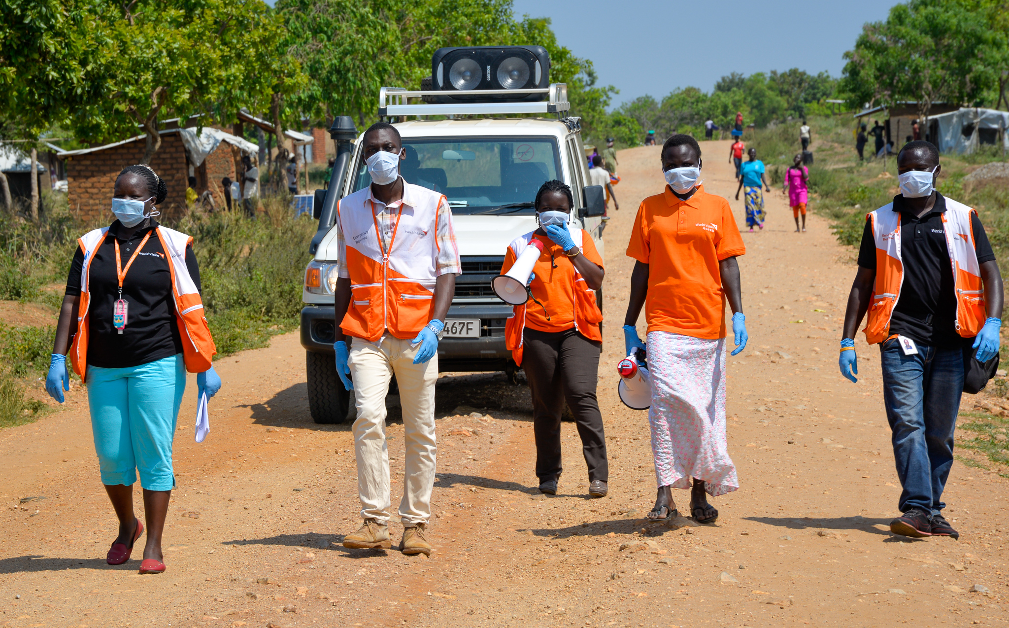 Humanitarian Agencies and Development Partners Boost Uganda's Fight Against COVID-19