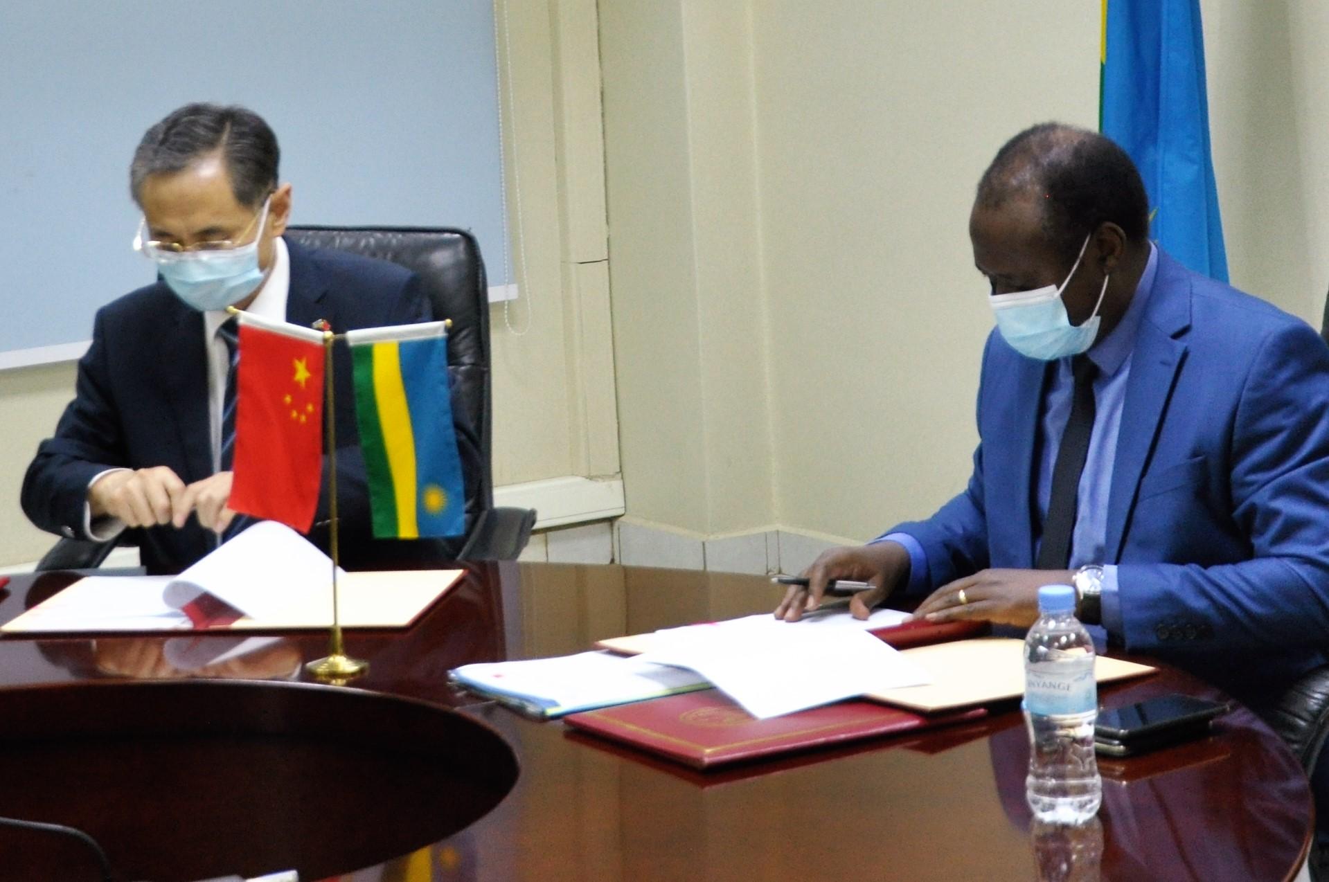 China and Rwanda Sign $60million Grant, Agree 6million $6 million Debt Cancellation.