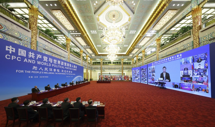 Strengthening Cooperation Among Political Parties to Jointly Pursue the People's Wellbeing