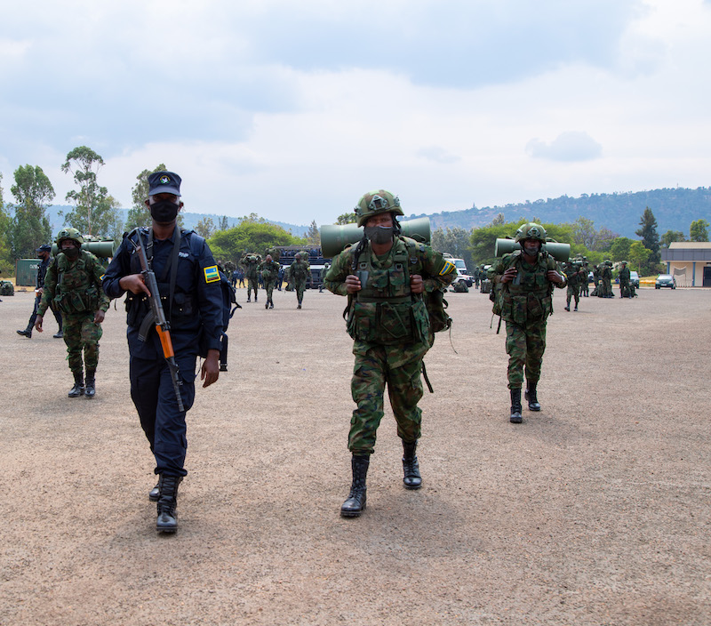 Rwanda Deploys Joint Force To Mozambique.